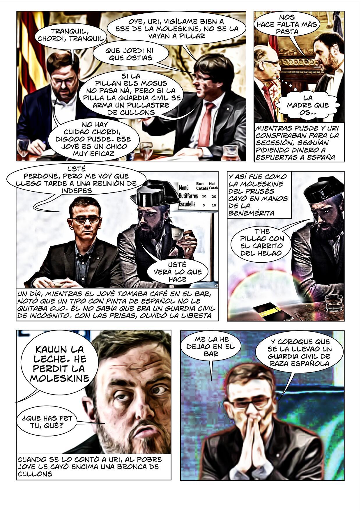 La Moleskine del Jové Cómic página 3